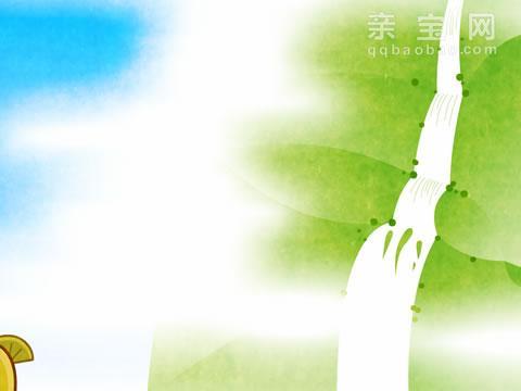 李白望庐山瀑布简笔画