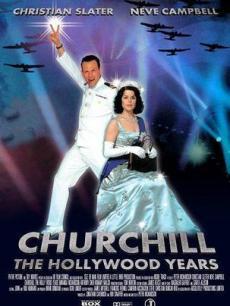 丘吉尔好莱坞年代电影海报