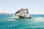 智利大理石岩洞:千年海浪冲击造就奇景