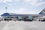 杭州机场上各国领导人专机型号最全版