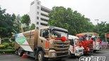 """打造""""绿色环卫""""名片 比亚迪助深圳电动环卫车试运营"""