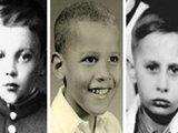 看看外国政要们的童年照