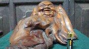 旧货市场淘回的根雕佛像竟然大叔儿子夜不能寐!