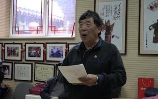 70岁老党员 用国粹唱响更美生活