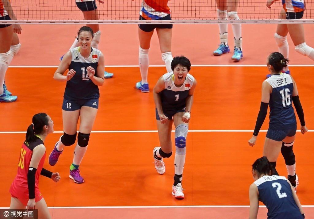 中国女排3-1复仇荷兰 12年后再进决赛 - 周公乐 - xinhua8848 的博客