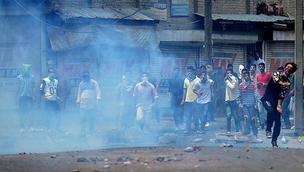 India announced the suspension of military crackdown on Indian controlled Kashmir
