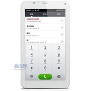 酷比魔方(ACUBE) TALK7X四核 3G通话平板电脑(IPS全视角3G双卡双待 通话 蓝牙 导航 ) 前白后白