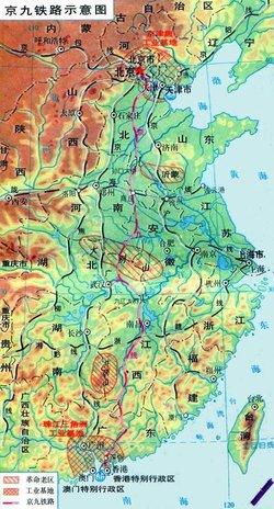 青海 郑州铁路地图