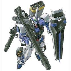 MBF-P03异端高达蓝色机全武装形态