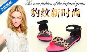 鞋,百搭流行的款式,坡跟轻松拉长脚型,藤编厚底非常有夏天的清高清图片
