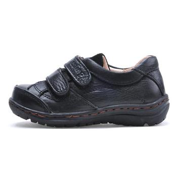 新款男童黑皮鞋单鞋