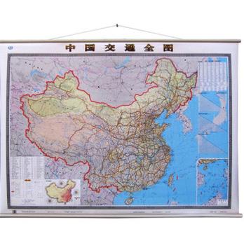 中国交通全图 铁路公路