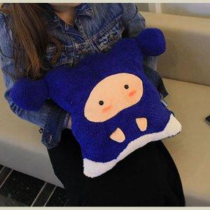 卡拉梦被子抱枕星座空调靠垫女人被毯可爱生双鱼座两用花心图片