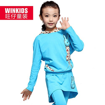 女童秋装 儿童套装 童装b6215