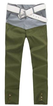 男士墨绿色裤子搭配