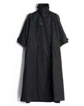 棉布风衣_艾米可多棉布风衣