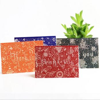 母亲节贺卡 手绘传统原创复古明信片