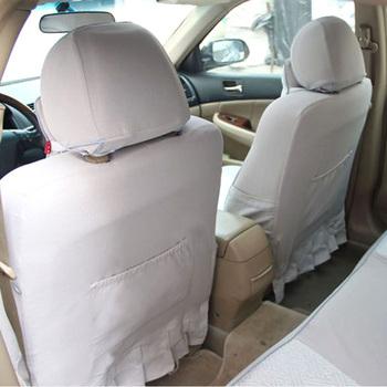 专车专用 冰丝汽车座椅套 丰田 花冠 皇冠 卡罗拉 锐志 YT1209B 灰色 高清图片