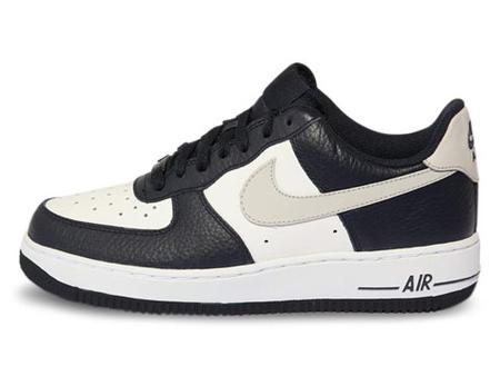 耐克(nike) 男板鞋 蓝黑/浅灰色/白