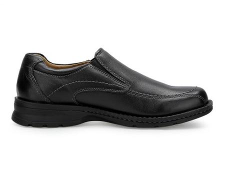铁三道 男休闲皮鞋 黑色