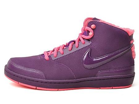 耐克 高帮充棉运动文化鞋