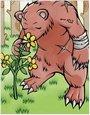 大脚熊卡片