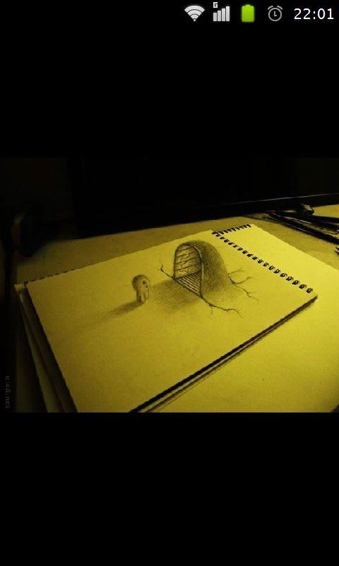 教你画创意3d手绘下载