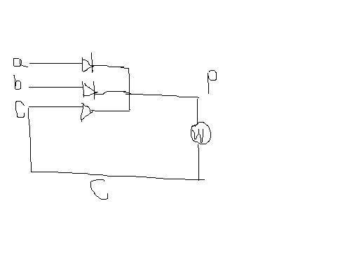 这个电路实际上属于二相式半波整流电路,C相上的二极管实际上是并接在电磁吸盘两端,功能是电磁吸盘的续流二极管。 追问:不对啊 我测量过ABC 确实是三相380V 不是俩相整流 也不是续流的二极管 追答:ABC之间当然是交流380V。你要量电磁吸盘两端的直流电压。下图因为是阻型负载,所以没有续流二极管。