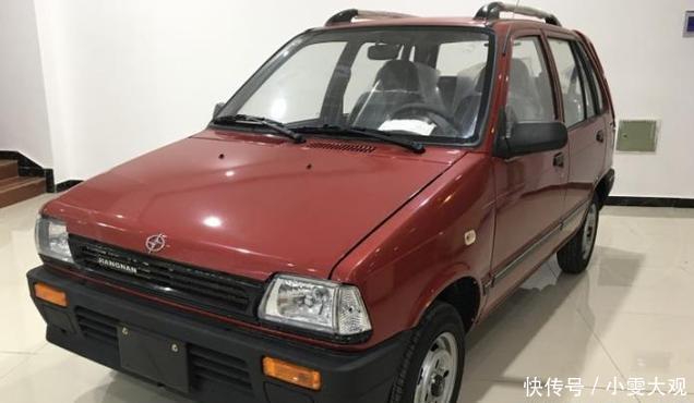 江南奥拓复出,新车重度升级,售2.08万元,比摩托车还划算