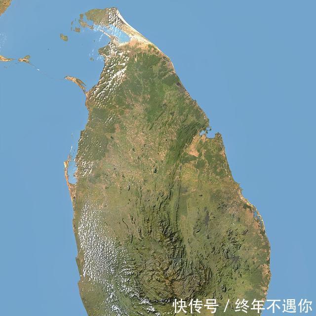世界上人口数量最多的十个岛屿之一斯里兰卡岛