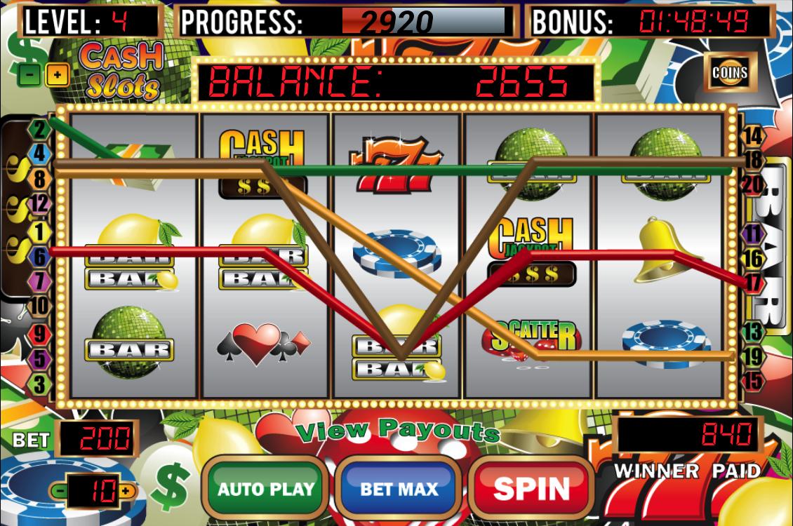 cash slots slot machine