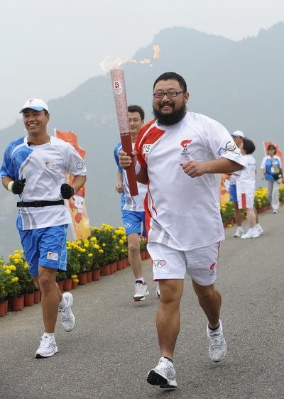 北京奥运火炬传递