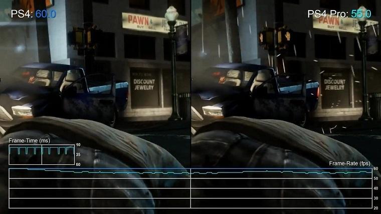 《美国末日:重制版》PS4 Pro和PS4版对比测试