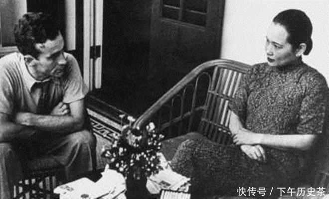 """斯诺说""""蒋介石曾斯诺说""""蒋介石曾向宋庆龄求过婚"""",这是真的吗"""