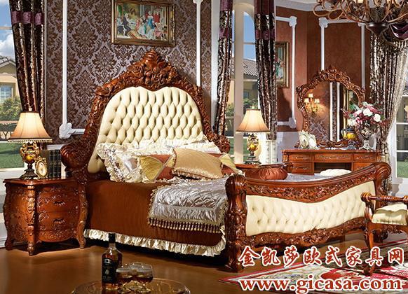 在国内较为有名的欧式家具品牌有平安家具,标致,卡芬达,亚振等 品牌.