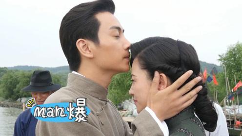 《红蔷薇》片场手记:陈晓杨子姗临别上演额头杀