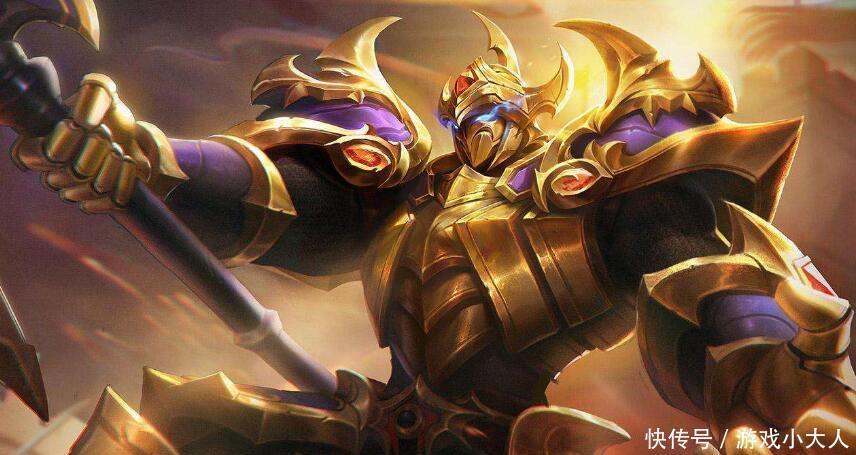 王者荣耀:典韦最强出装,一斧子打出成吨伤害,成为野区霸主