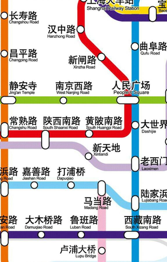 上海地铁路线图 0.0.
