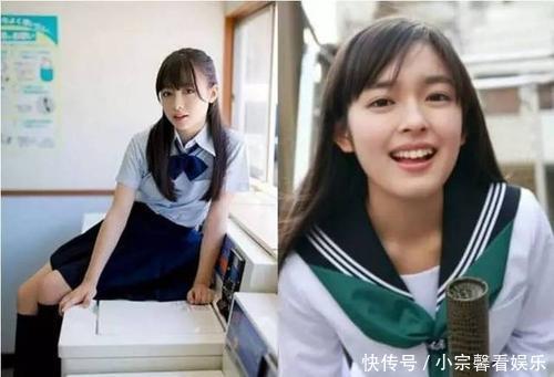 日本女高中生素颜AI照曝出,天雷滚滚,高中直呼成绩差能吗考上网友图片