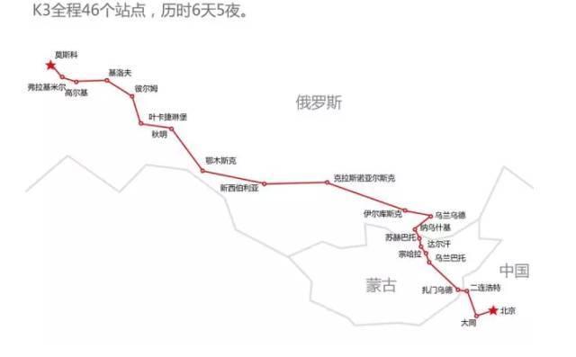 一趟北京开往莫斯科的列车,沿途风光惊艳了整个世界
