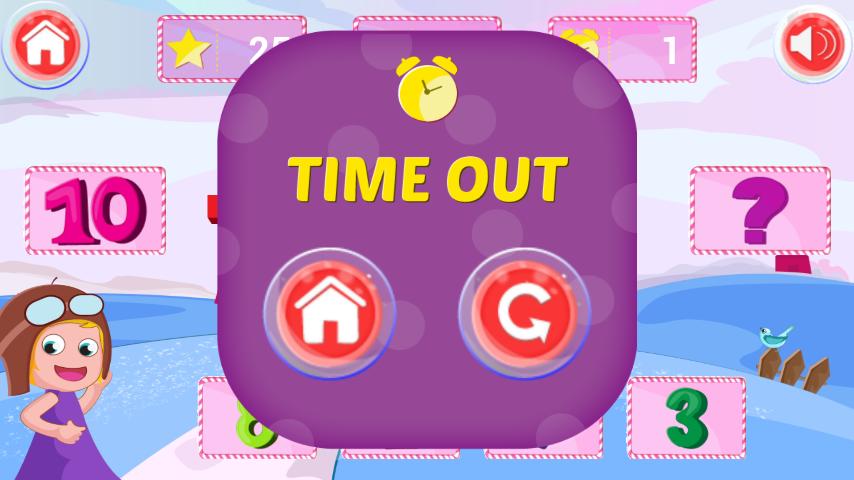 >儿童数学游戏  这是一个充满乐趣的数学游戏为您的孩子与可爱的动画