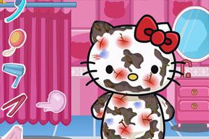 照顾脏兮兮的凯蒂猫,照顾脏兮兮的凯蒂猫小游搞笑痛图片好的宝宝图片