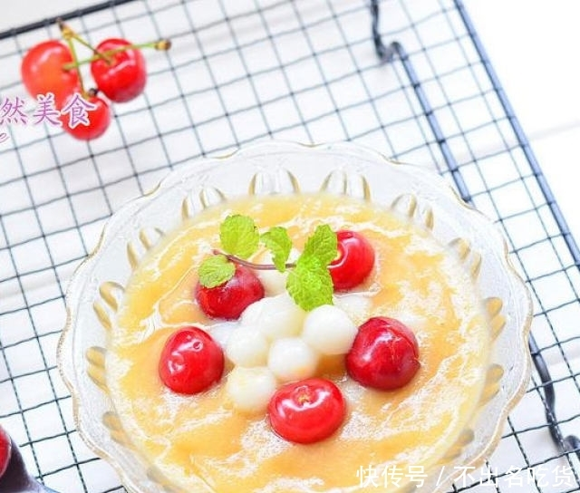 夏季甜品芒果圆子,做法简单,超好吃,值得收藏!