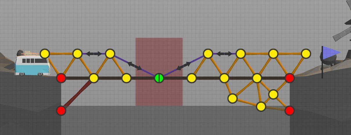 绿色节点示意图