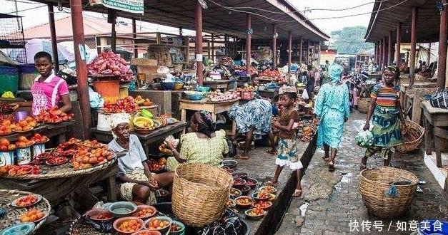 看了非洲人的菜市场,才知道他们不是穷,而是缺中国厨师!