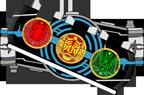 KR OOO Henshin Belt