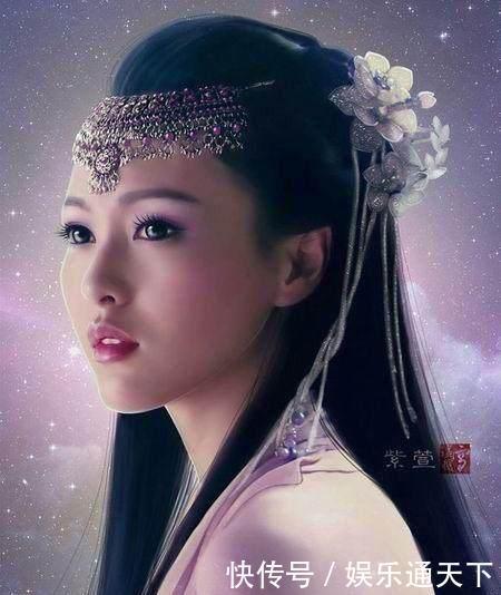 女星手绘图,赵丽颖,杨幂,迪丽热巴,郑爽,谁才是女神