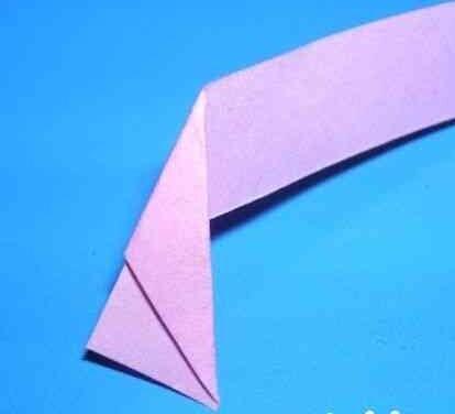 如何用一张星星纸折花