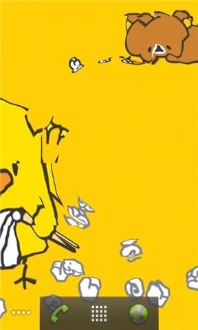 软件 壁纸主题 >小黄鸭动态壁纸  应用介绍 可爱萌翻的小黄鸭嘎嘎嘎的
