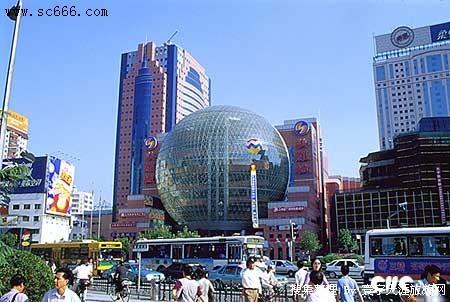 徐家汇商业中心的总体设计运用了城市设计理论,防止单体建筑与总体